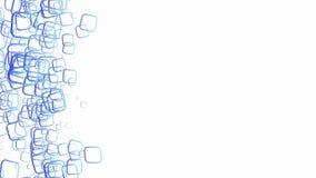 Αφηρημένο γεωμετρικό στρογγυλό σχέδιο τετραγώνων γωνιών φιλμ μικρού μήκους