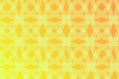 Αφηρημένο γεωμετρικό σχέδιο με τη yellow-orange κλίση απεικόνιση αποθεμάτων