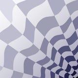 Αφηρημένο γεωμετρικό σχέδιο μιας checkerboard γκρίζας και μπλε προοπτικής Στοκ εικόνες με δικαίωμα ελεύθερης χρήσης