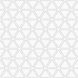 Αφηρημένο γεωμετρικό σχέδιο των διαστιγμένων τριγώνων Στοκ φωτογραφία με δικαίωμα ελεύθερης χρήσης