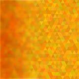Αφηρημένο γεωμετρικό τριγωνικό σχέδιο με θολωμένος Στοκ Εικόνες