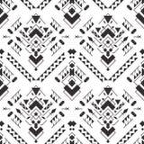 Αφηρημένο γεωμετρικό των Αζτέκων άνευ ραφής σχέδιο Στοκ φωτογραφίες με δικαίωμα ελεύθερης χρήσης