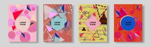 Αφηρημένο γεωμετρικό υπόβαθρο γραμμών για το σχέδιο κάλυψης φυλλάδιων Στοκ εικόνες με δικαίωμα ελεύθερης χρήσης