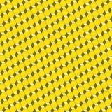 Αφηρημένο γεωμετρικό υπόβαθρο σχεδίων κεραμιδιών τρισδιάστατο Στοκ Εικόνες