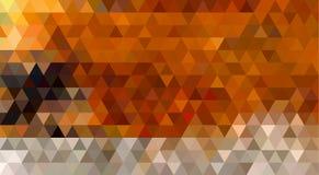 Αφηρημένο γεωμετρικό υπόβαθρο τριγώνων: Αλεπού Στοκ Φωτογραφία