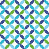 Αφηρημένο γεωμετρικό υπόβαθρο των ζωηρόχρωμων κύκλων Στοκ φωτογραφία με δικαίωμα ελεύθερης χρήσης