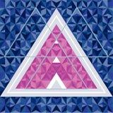 Αφηρημένο γεωμετρικό υπόβαθρο Στοκ εικόνα με δικαίωμα ελεύθερης χρήσης