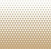 Αφηρημένο γεωμετρικό χρυσό γραφικό ημίτονο σχέδιο τριγώνων τυπωμένων υλών σχεδίου Στοκ φωτογραφία με δικαίωμα ελεύθερης χρήσης