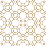 Αφηρημένο γεωμετρικό χρυσό σχέδιο διακοσμήσεων τέχνης deco ελεύθερη απεικόνιση δικαιώματος