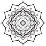 Αφηρημένο γεωμετρικό ύφος mandala Στοκ Φωτογραφία