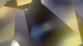 Αφηρημένο γεωμετρικό polygonal υπόβαθρο κινήσεων Τηλεοπτικός εταιρικός περιτυλίχτηκε ζωτικότητα τρισδιάστατη απόδοση 4K, υπερβολι απεικόνιση αποθεμάτων