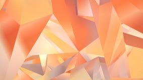Αφηρημένο γεωμετρικό polygonal υπόβαθρο κινήσεων Τηλεοπτικός εταιρικός περιτυλίχτηκε ζωτικότητα τρισδιάστατη απόδοση 4K, υπερβολι ελεύθερη απεικόνιση δικαιώματος