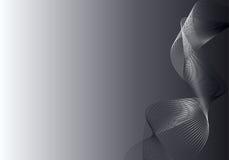 αφηρημένο γκρίζο ασήμι ανα&sig Στοκ Εικόνες