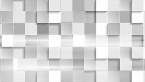 Αφηρημένο γκρίζο βιντεοκλίπ τετραγώνων τεχνολογίας γεωμετρικό ελεύθερη απεικόνιση δικαιώματος