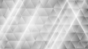 Αφηρημένο γκρίζο βιντεοκλίπ τριγώνων τεχνολογίας γεωμετρικό ελεύθερη απεικόνιση δικαιώματος