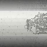 Αφηρημένο γκρίζο διάνυσμα υποβάθρου, απεικόνιση για Στοκ Φωτογραφίες