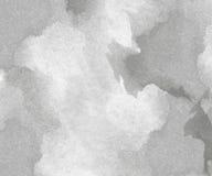 Αφηρημένο γκρίζο υπόβαθρο watercolor Στοκ φωτογραφία με δικαίωμα ελεύθερης χρήσης