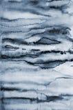 Αφηρημένο γκρίζο watercolor στη σύσταση εγγράφου ως υπόβαθρο Στοκ Εικόνες