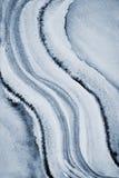 Αφηρημένο γκρίζο watercolor στη σύσταση εγγράφου ως υπόβαθρο Στοκ Φωτογραφίες