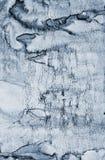 Αφηρημένο γκρίζο watercolor στη σύσταση εγγράφου ως υπόβαθρο απεικόνιση αποθεμάτων