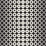 Αφηρημένο γραπτό υπόβαθρο σχεδίων Άνευ ραφής γεωμετρικός κύκλος ημίτονος Μοντέρνος σύγχρονος απεικόνιση αποθεμάτων