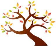 αφηρημένο δέντρο φθινοπώρου Στοκ Εικόνα