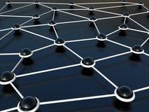 αφηρημένο δίκτυο σύνδεση&sigm διανυσματική απεικόνιση