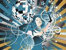 αφηρημένο δημιουργικό σχέ&del Στοκ Εικόνες