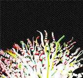αφηρημένο διάνυσμα δέντρων &kap διανυσματική απεικόνιση