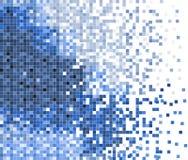 αφηρημένο διάνυσμα εικονοκυττάρου μωσαϊκών ανασκόπησης Στοκ φωτογραφία με δικαίωμα ελεύθερης χρήσης