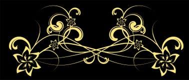 αφηρημένο διάνυσμα λουλουδιών Διανυσματική απεικόνιση