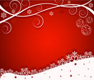 αφηρημένο διάνυσμα Χριστουγέννων ανασκόπησης Στοκ φωτογραφία με δικαίωμα ελεύθερης χρήσης