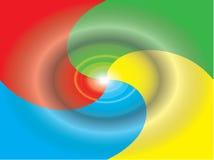 αφηρημένο διάνυσμα χρώματο&s διανυσματική απεικόνιση