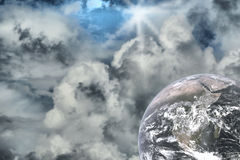 αφηρημένο διάστημα νεφελώματος απεικόνισης starfield στοκ φωτογραφίες με δικαίωμα ελεύθερης χρήσης