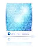 αφηρημένο διανυσματικό κύμα κύκλων Στοκ Εικόνες