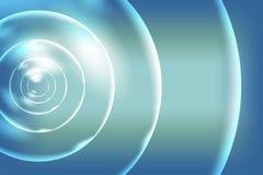 Αφηρημένο διανυσματικό πολύχρωμο σκιασμένο υπόβαθρο με το τρισδιάστατο κοχύλι, διανυσματική απεικόνιση Στοκ φωτογραφίες με δικαίωμα ελεύθερης χρήσης