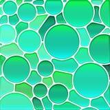 Αφηρημένο διανυσματικό stained-glass υπόβαθρο μωσαϊκών διανυσματική απεικόνιση