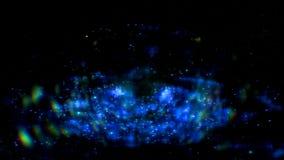 Αφηρημένο διαστημικό μήκος σε πόδηα αστραπής στο μαύρο υπόβαθρο Ο διαστημικός γαλαξίας ακτινοβολεί επίδραση με τα σπινθηρίσματα σ στοκ φωτογραφία