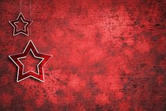 Αφηρημένο διαστημικό υπόβαθρο αντιγράφων διακοσμήσεων Χριστουγέννων Στοκ φωτογραφίες με δικαίωμα ελεύθερης χρήσης