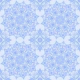 Αφηρημένο εθνικό ανοικτό μπλε υπόβαθρο εθνικό πρότυπο άνευ ραφής στοκ εικόνα