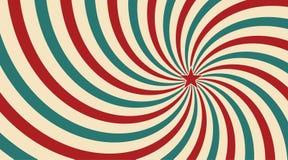 Αφηρημένο εκλεκτής ποιότητας φως του ήλιου του κόκκινου κίτρινου μπλε διανυσματική απεικόνιση