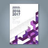Αφηρημένο ελάχιστο γεωμετρικό υπόβαθρο γραμμών για το βιβλίο επιχειρησιακών ετήσια εκθέσεων ελεύθερη απεικόνιση δικαιώματος