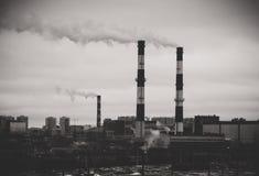 αφηρημένο εργοστάσιο εννοιών πόλεων στοκ φωτογραφίες με δικαίωμα ελεύθερης χρήσης