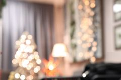 Αφηρημένο εσωτερικό Χριστουγέννων Στοκ Εικόνα