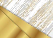 Αφηρημένο εταιρικό υπόβαθρο με τη χρυσή μαρμάρινη σύσταση απεικόνιση αποθεμάτων