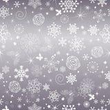 Αφηρημένο ευγενές ιώδες άνευ ραφής σχέδιο Χριστουγέννων διανυσματική απεικόνιση