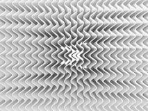 αφηρημένο λευκό κυμάτων ανασκόπησης τρισδιάστατος δώστε, μια πηγή φωτός, μαλακές σκιές Στοκ φωτογραφίες με δικαίωμα ελεύθερης χρήσης