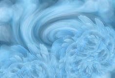 Αφηρημένο ελαφρύ τυρκουάζ υπόβαθρο με τα ελαφριά άσπρος-μπλε peony λουλούδια ρύθμιση λουλουδιών Στοκ Φωτογραφίες
