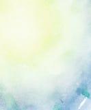 Αφηρημένο ελαφρύ υπόβαθρο watercolor. Στοκ Εικόνα