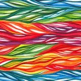 Αφηρημένο ζωηρόχρωμο άνευ ραφής σχέδιο Watercolor Στοκ εικόνα με δικαίωμα ελεύθερης χρήσης